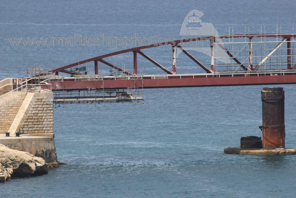 St. Elmo Breakwater Bridge Works - June 2015