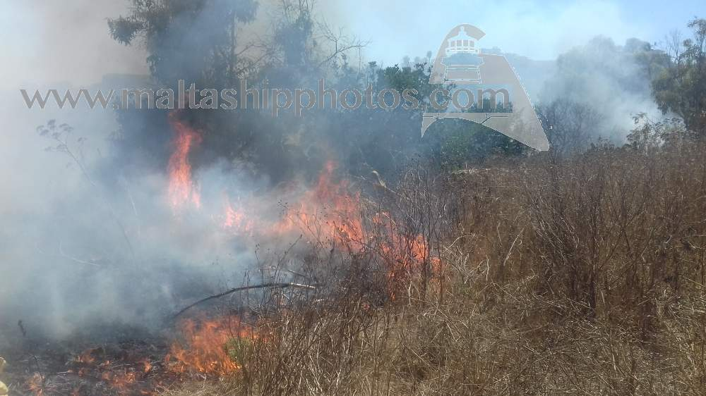 Swieqi Valley Fire No 1 - 31.07.2017
