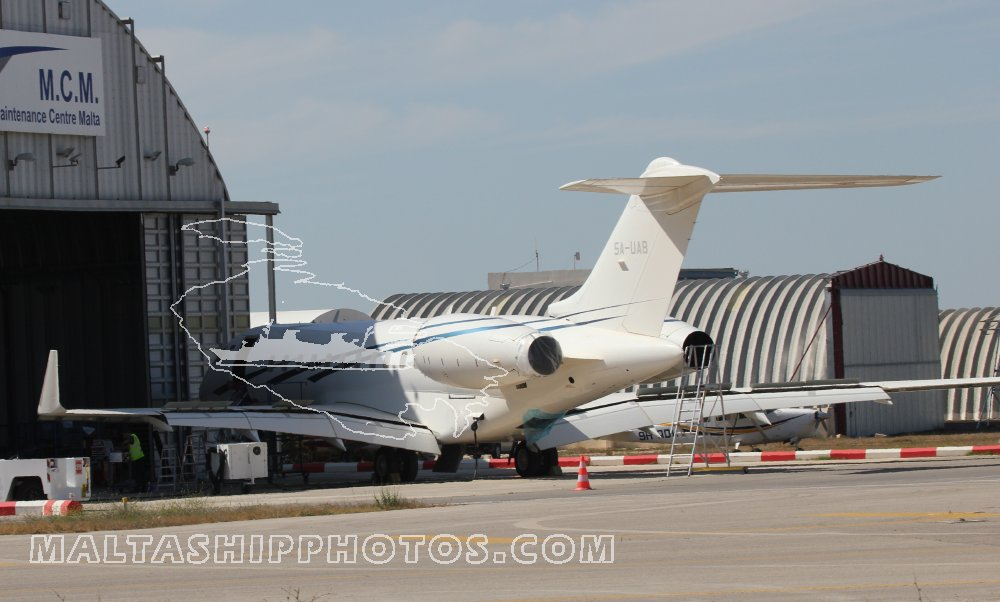 5A-UAB - Bombardier BD-700-1A11 Global 5000