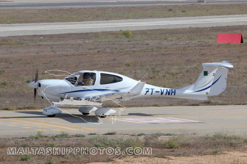 7T-VNH - Diamond DA40NG - 30.09.2014