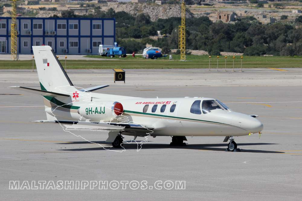 9H-AJJ Cessna Citation 1 - 12.03.2013