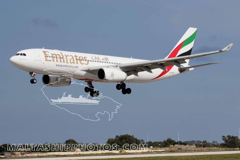 Emirates Airlines, UAE - A6-EKW - Airbus A330-243 - 29.10.2014