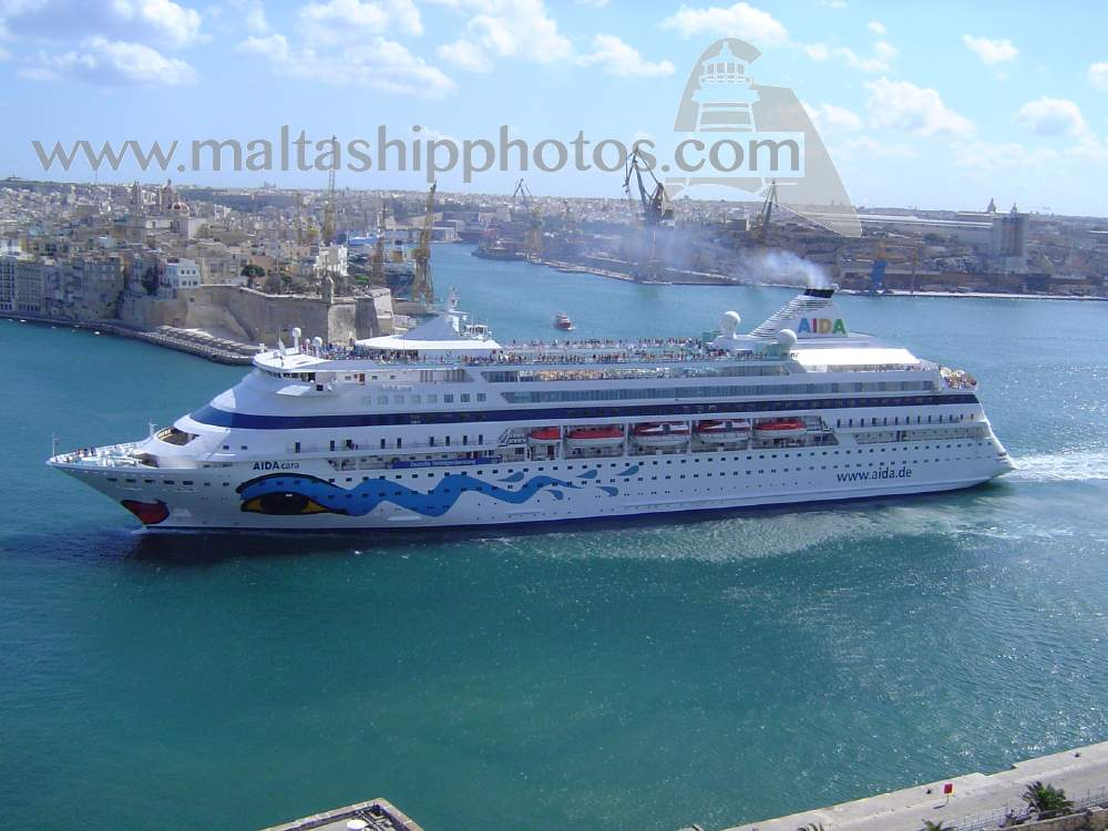 AIDA Cruises, Germany - AidaCara - 20.09.2005