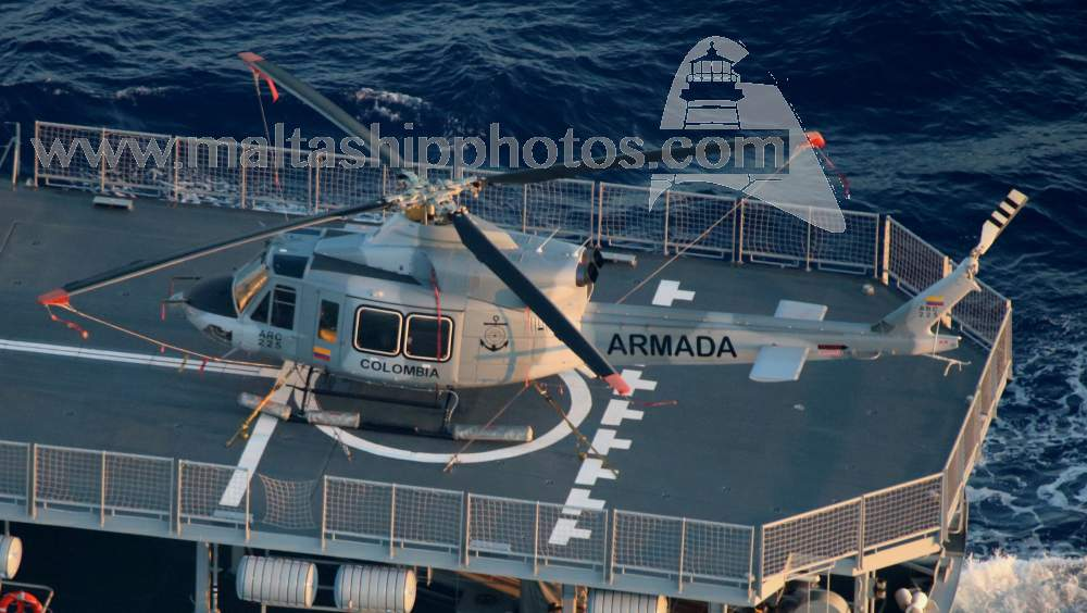 Colombian Navy - ARC 225 - Bell 412EP - 22.07.2015