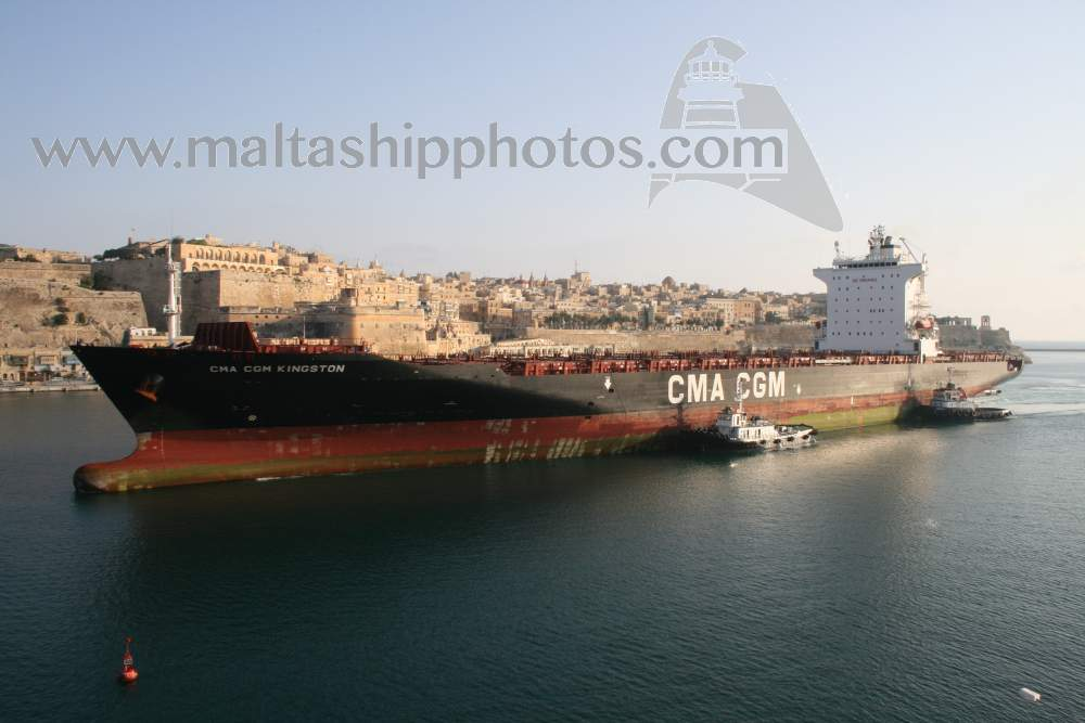 CMA CGM The French Line, France - CMA CGM Kingston - 04.08.2007