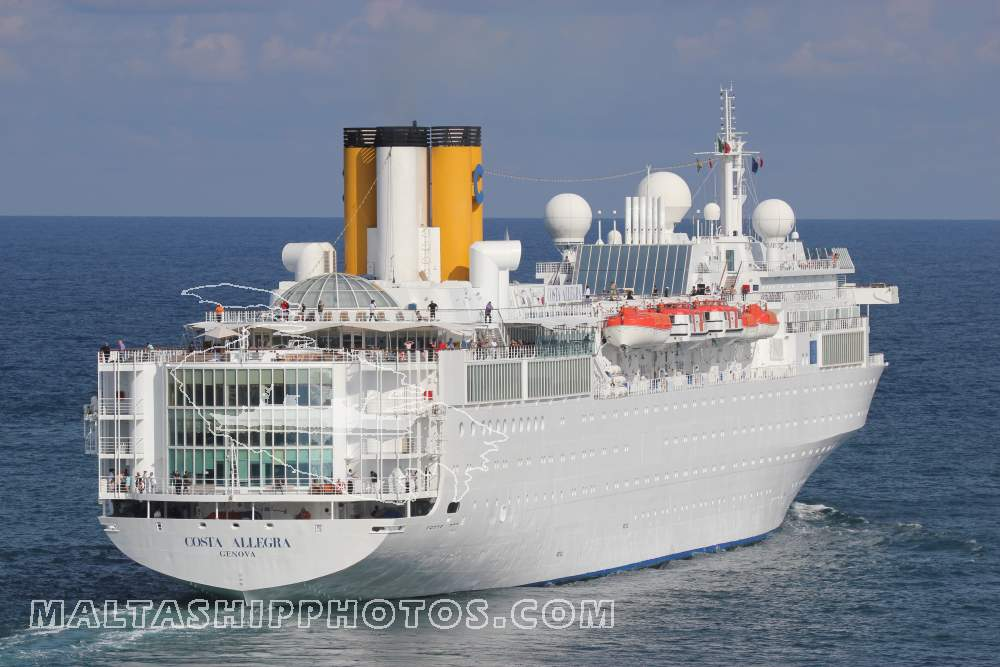 Costa Allegra - 11.11.2011