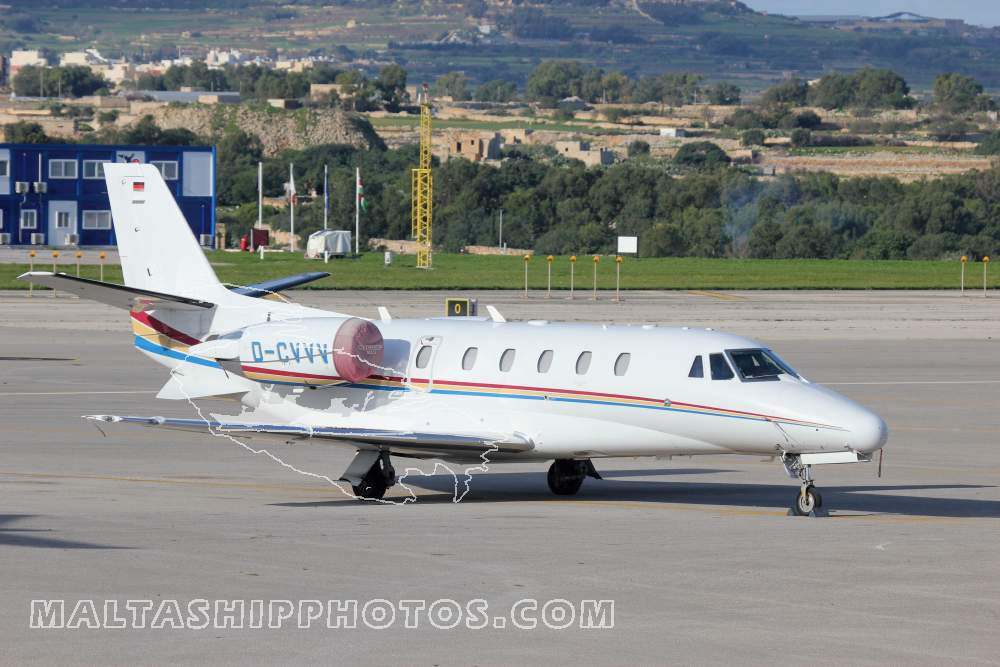 D-CVVV - Cessna 560XL Citation XLS - 14.12.2014