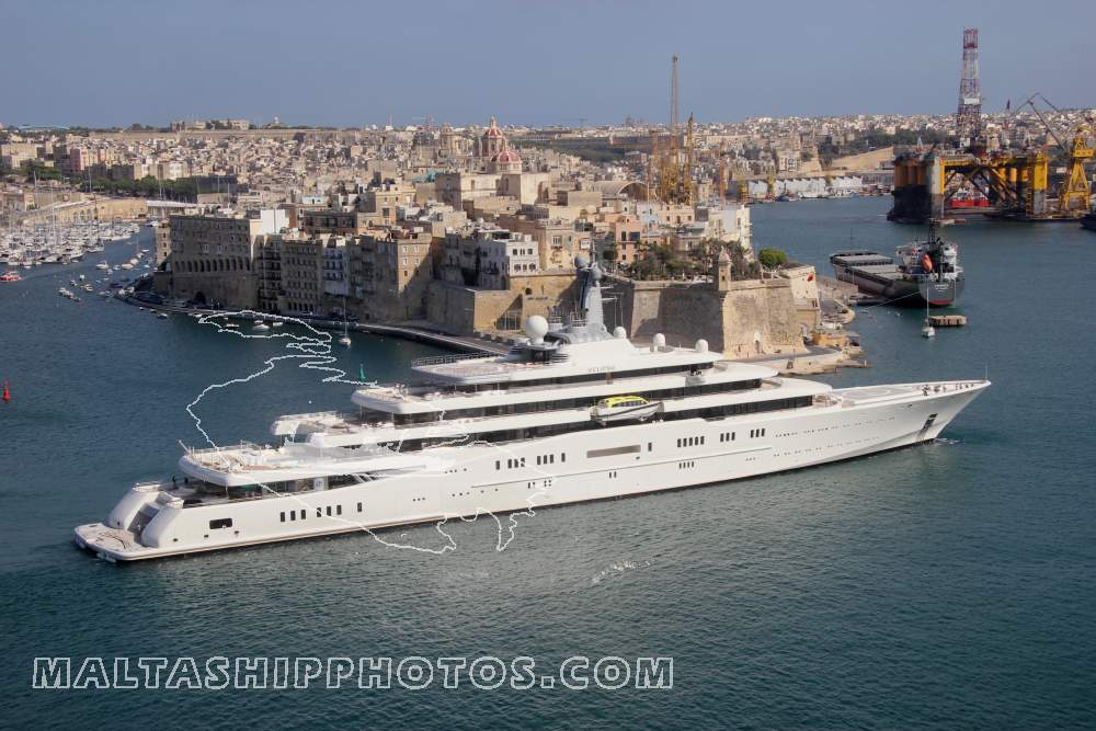 Roman Abramovich - Eclipse no 3 - 12.07.2014