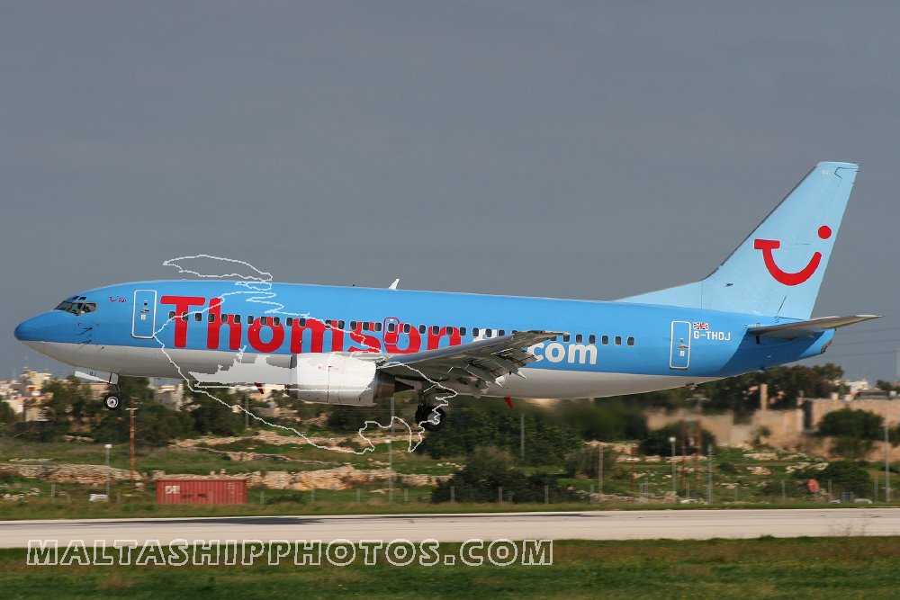Thomson Airways, UK - G-THOJ Boeing B737-36Q - 05.12.2006