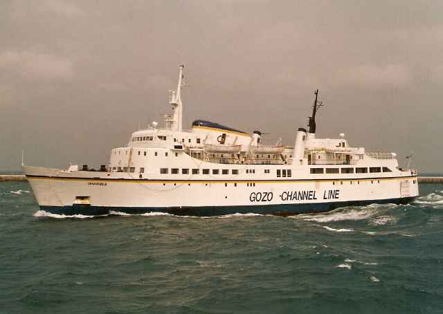 Gozo Channel Co Limited, Malta - Ghawdex - September 1998