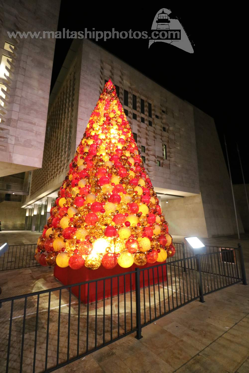 Valletta Christmas Tree - 0412.2015