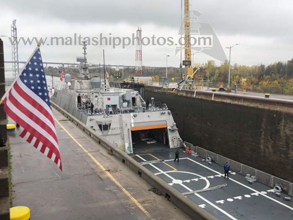 US Navy - Freedom Class - LCS 11 - USS Sioux City no 2 - 28.10.2018