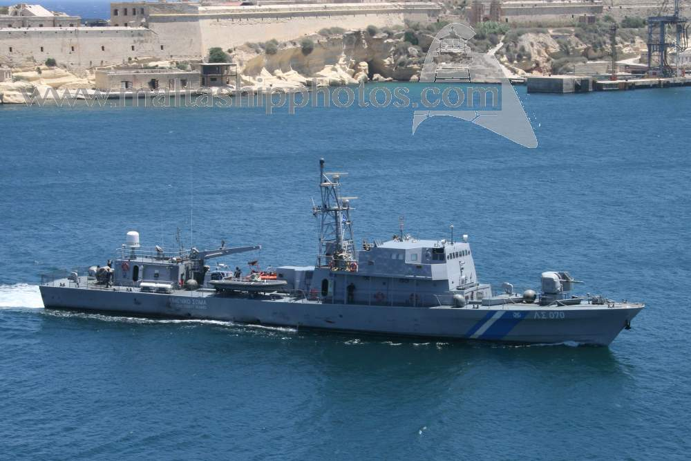Hellenic Coast Guard - LS 070 - 05.07.2007