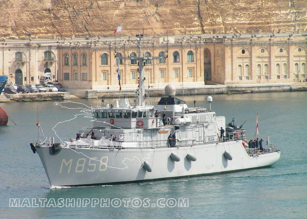Royal Netherlands Navy - Tripartite Class - M 858 HNLMS Middelburg - 17.06.2011