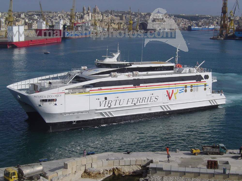 Virtu Ferries Ltd, Malta - Maria Dolores - 17.03.2006