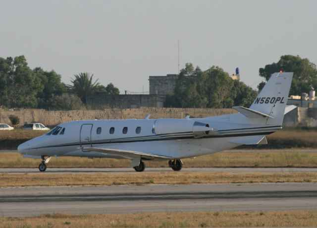 N560PL Cessna 560XL Citation XLS