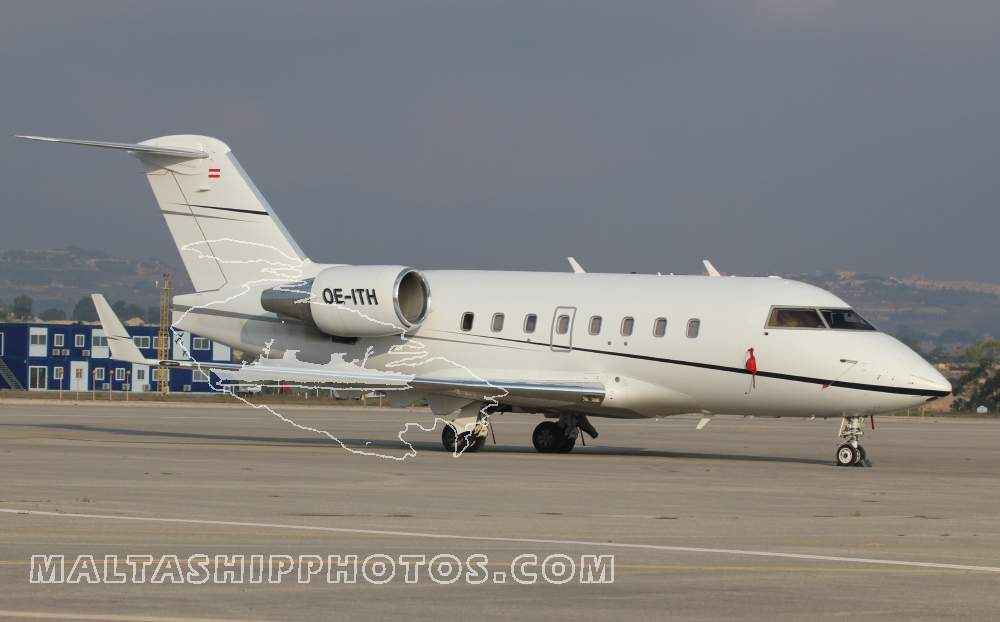 n/a - OE-ITH - CL-600-2B16 Challenger 604 - 30.08.2014