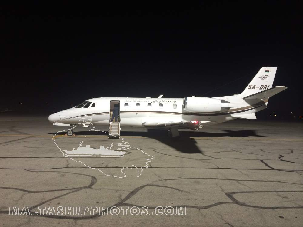 5A-DRL - Cessna 560XL Citation XLS - 03.08.2014