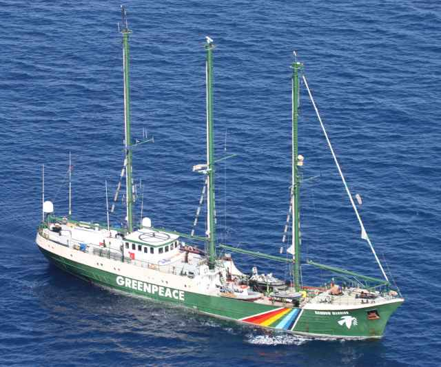 Rainbow Warrior - 20.03.2010