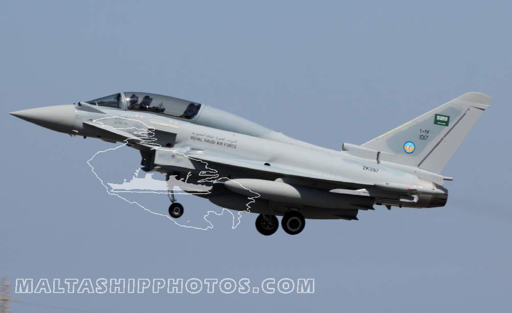 1017 - Eurofighter Typhoon T3 no 1 - 05.09.2014