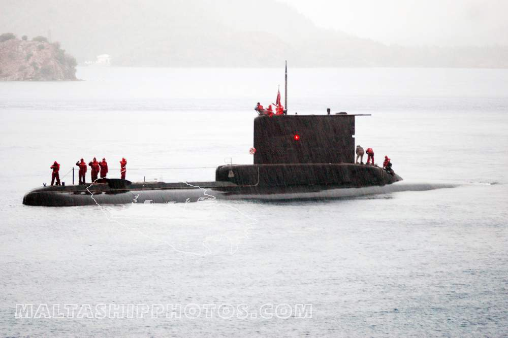 Turkish Navy - Atilay Class - S350 TCG Yildiray - 17.11.2005