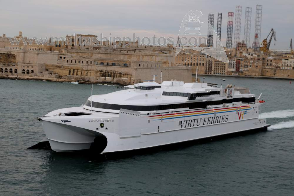 Virtu Ferries Ltd, Malta - Saint John Paul II no 1 - 29.03.2019