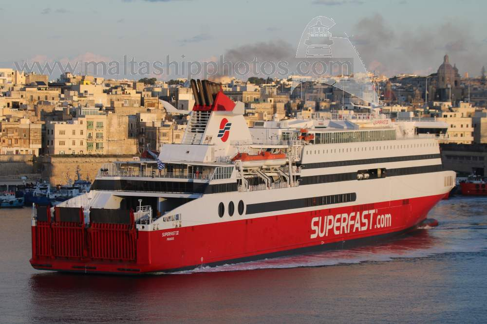 Superfast Ferries S.A.,Greece - Superfast XII no 1 - 05.12.2017