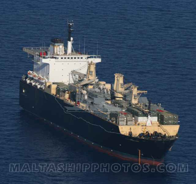 US Navy - Military Sealift Command - T-AK 3010 USNS 1st Lt Baldomero Lopez no 1
