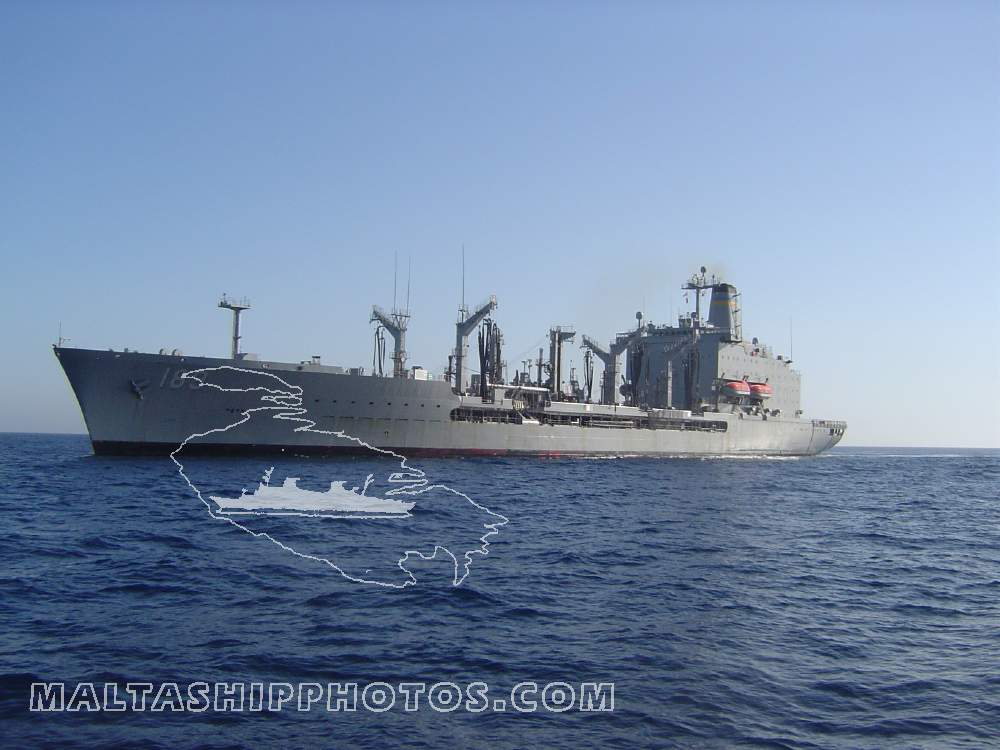 T-AO 189 USNS John Lenthall - April 2004