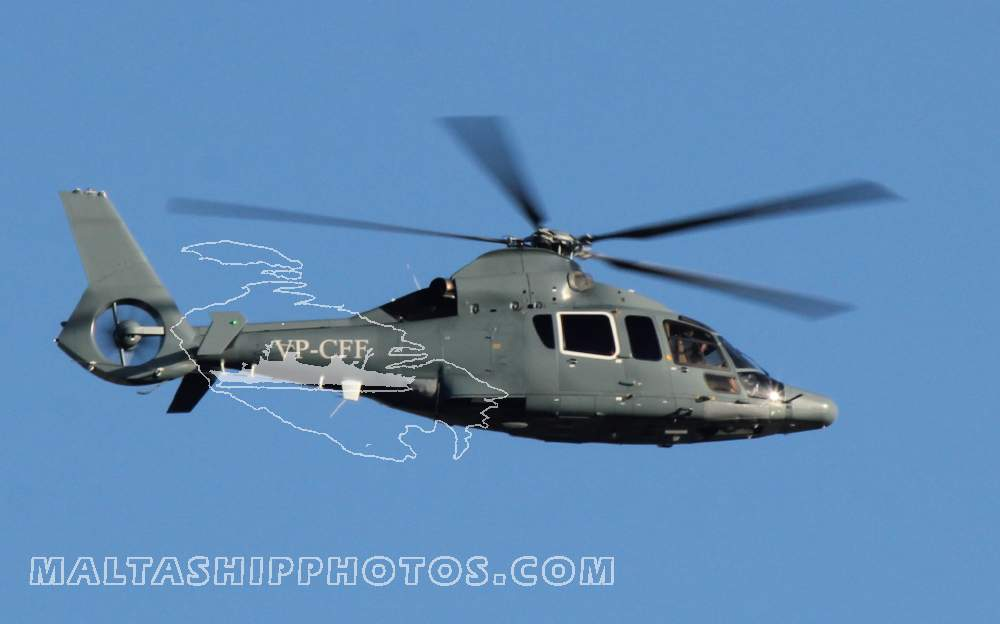 VP-CFF - Airbus Helicopters EC155 B1 - 13.11.2014