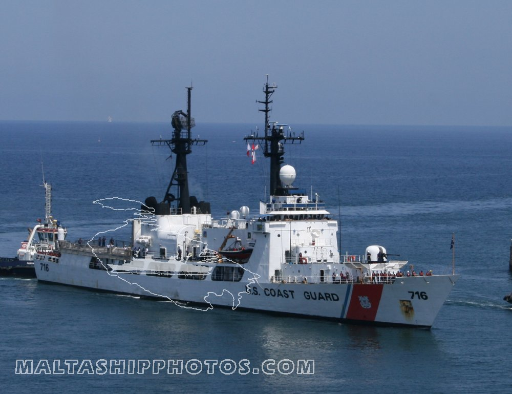 WHEC 716 USCG Dallas no 1 - 14.08.2008