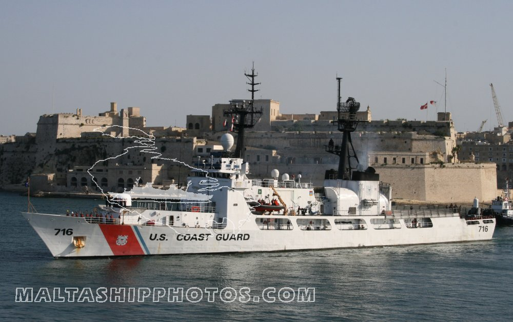WHEC 716 USCG Dallas no 1 - 16.08.2008