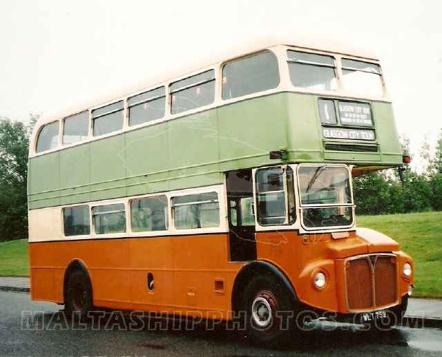 Glasgow Corporation Transport City Tours, Scotland - WLT 759 - AEC Routemaster