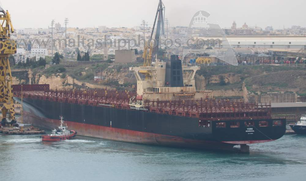 Costamare Shipping, Greece - York no 1 - 02.11.2018