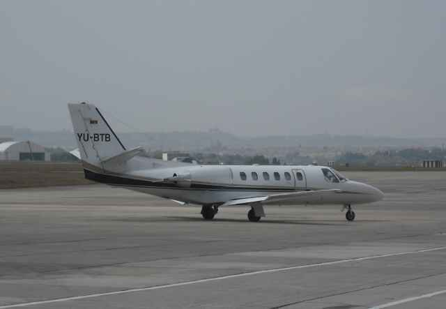 YU-BTB - Cessna 550 Citation Bravo