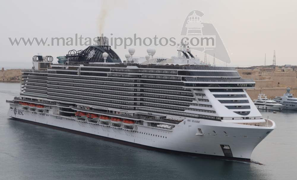MSC Seaside no 1 - 03.05.2021